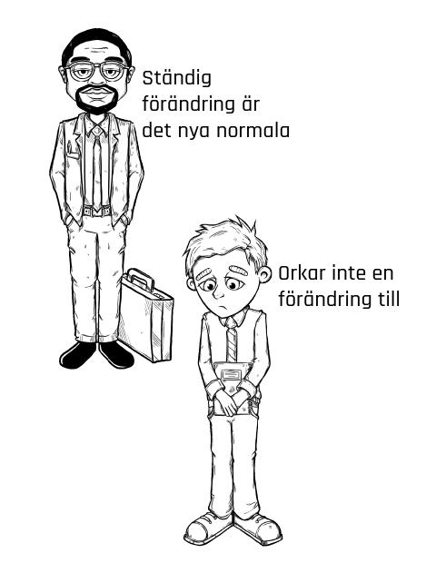 SAGT OM FÖRÄNDRINGAR