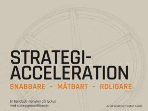 Strategiacceleration : snabbare, mätbart, roligare – en handbok i konsten att lyckas med strategigenomförande (E-bok)